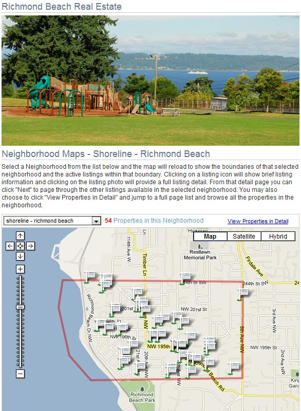 Richmond Beach homes for sale